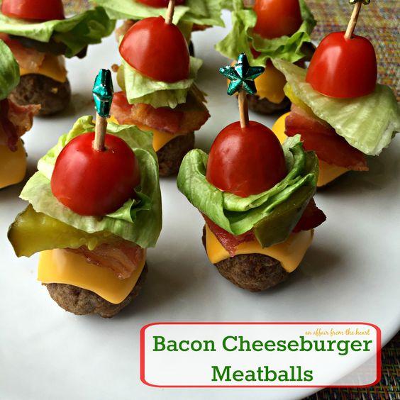 Bacon Cheeseburger Meatballs | Recipe | Bacon and ...
