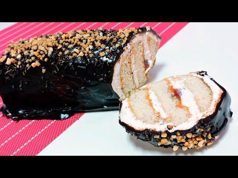 TARTA de GALLETAS con CHOCOLATE y NATA (tarta sin horno)