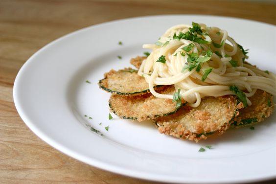 Crispy Zucchini Pasta