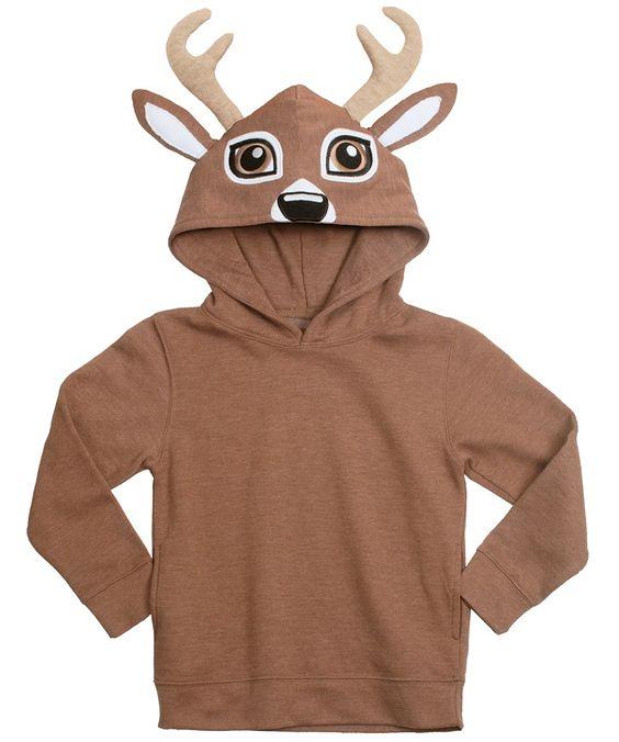 Deer Face Animal Hoodie