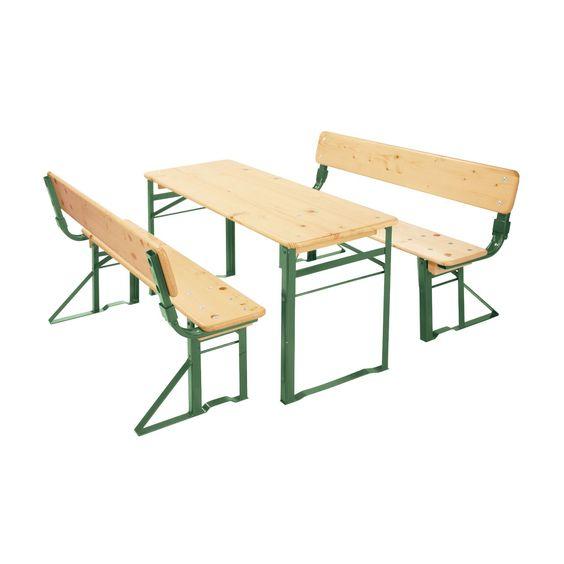 Kinder-Garten-Garnituren mit Lehne