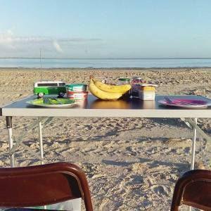 Frühstück am Strand in Bensersiel