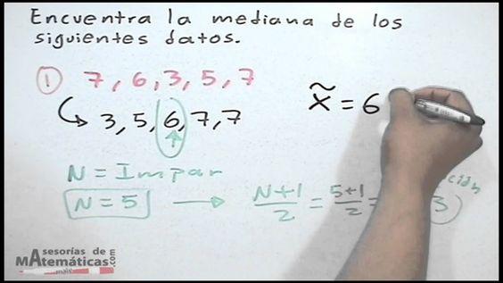 Mediana (centro de las observaciones) - HD