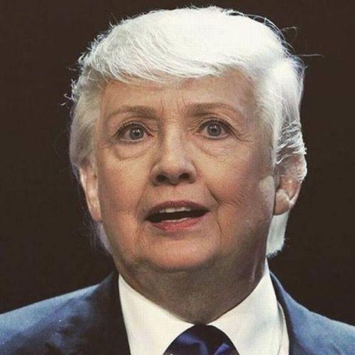 Donald Trump Clinton - Face Morph Fail   Funny   Pinterest   Donald ...