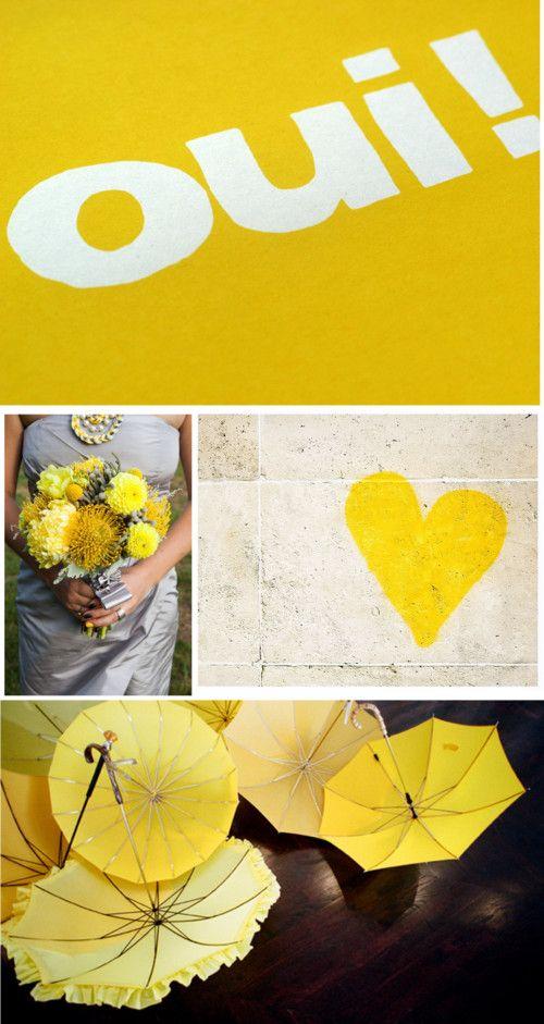 Gorgeous yellows