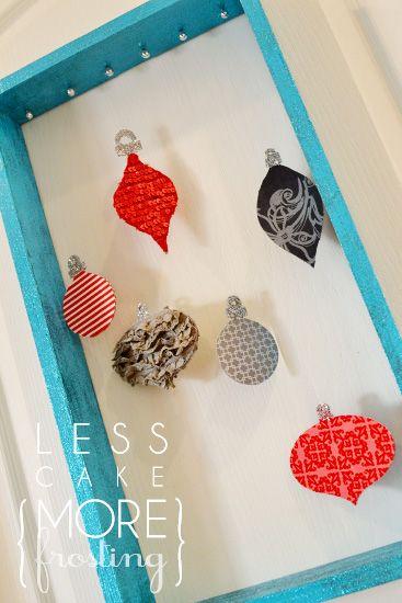 Handmade #Christmas #Ornaments by @Lara {aka Ellie g} Garner