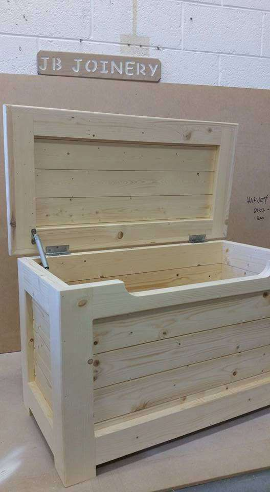 Woodland Toddler Room 19 Mybabydoo Wood Toy Box Wooden Toy Boxes Chests Diy