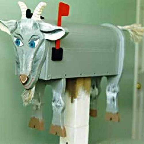 Goat mailbox