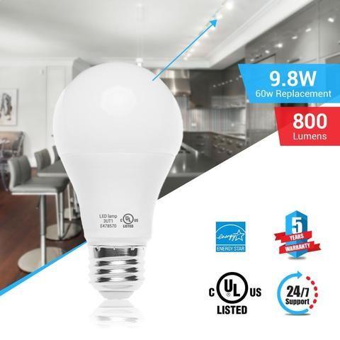 Biggest Discount Ever On A19 Led Lights Bulbs Sale Now Led Light Bulb Dimmable Led Lights Led Light Bulbs