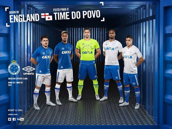 Ceci est le nouveau Maillot de foot Cruzeiro pas cher pour la saison 2016/2017: