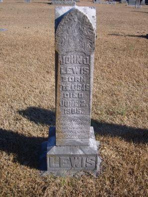John Jackson Lewis (1846 - 1905) - Find A Grave Photos