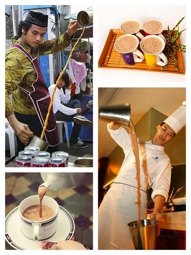Trà sữa Ấn Teh tarik - thức uống phổ biến của ẩm thực Ấn ở Singapore