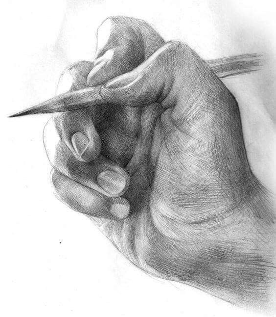 Dibujo Artistico Drawing In 2020 Realistic Drawings How To Draw Hands Drawing Techniques