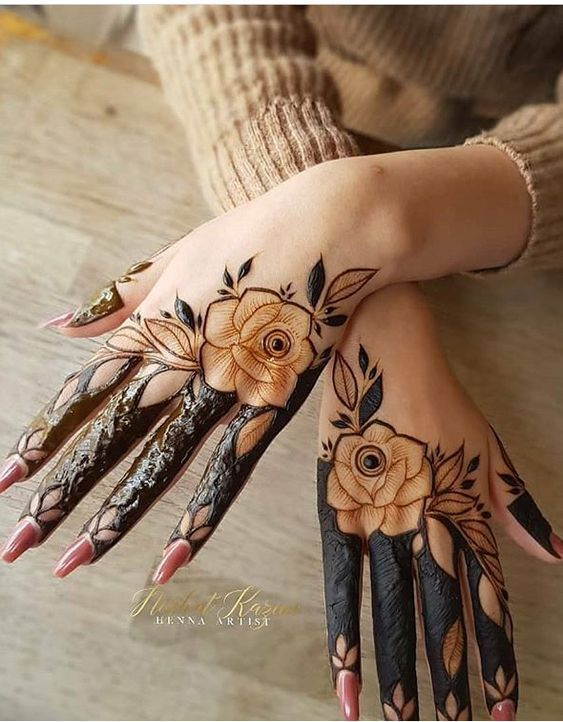 Most Gorgeous Rose Henna Designs For Hands Floral Henna Designs Henna Art Designs Mehndi Designs For Hands