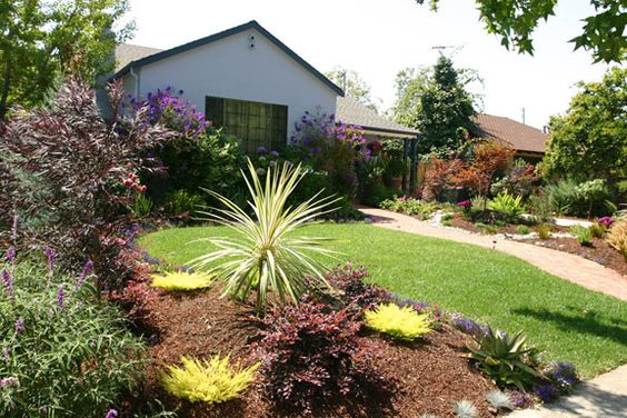 Drought Tolerant Landscaping Ideas California Brick Path