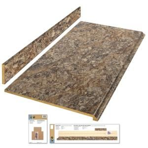 Hampton Bay 6 Ft Laminate Countertop Kit In Winter Carnival