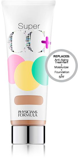 Physicians Formula CC + Cream SPF 30 The 1st ever CC+ cream visibly transforms your complexion with color-correcting pigments that instantly help correct uneven skin tone, imperfections, discoloration and visible signs of aging.