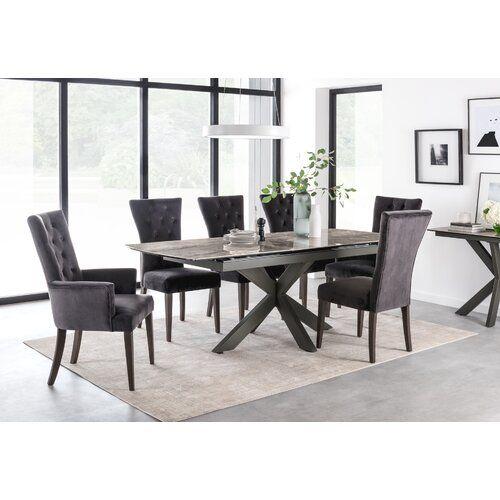 Ivy Bronx Ausziehbarer Esstisch Alvara Extendable Dining Table Ceramic Dining Table Dining Table