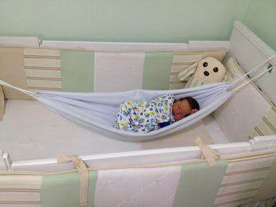 Ateliê Grace Artes: Novidade - Rede de Balanço  para Bebês