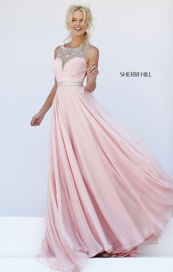 Light pink sherri hill princess dress - Fashion - Pinterest ...
