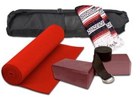 Our YogaAccessories Essentials Yoga Kit includes a FREE yoga strap together with all the yoga accessories you need to get started on a great yoga workout routine at an affordable price. http://www.yogaaccessories.com/YogaAccessories-Essentials-Yoga-Kit_p_122643.html