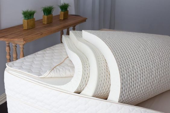 Savvy Rest natural latex mattresses can be customized with Soft, Medium or Firm layers of natural Dunlop and/or natural Talalay latex. The Serenity model (pictured) has three layers, but we also offer two- and four-layer mattresses.    How do you Savvy Rest?