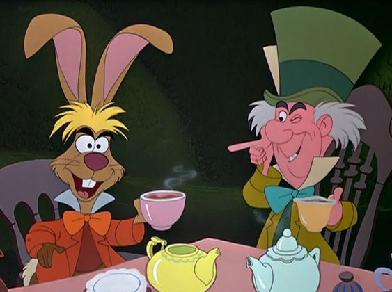 alice in wonderland disney tea party - Google Search