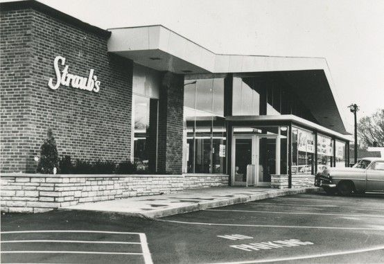 1960: Original store-front of the brand new Webster Groves location at 211 W. Lockwood