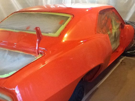 summit racing urethane single stage paint hugger orange 69 camaro 69 camaro hugger orange ss. Black Bedroom Furniture Sets. Home Design Ideas