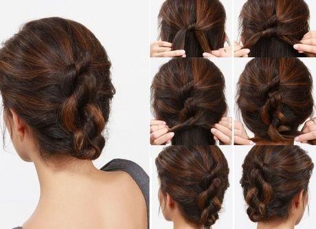 Peinados Recogidos Sencillos Para Fiestas Paso A Paso Peinados Faciles Pelo Corto Peinados Recogidos Peinados Faciles Y Rapidos