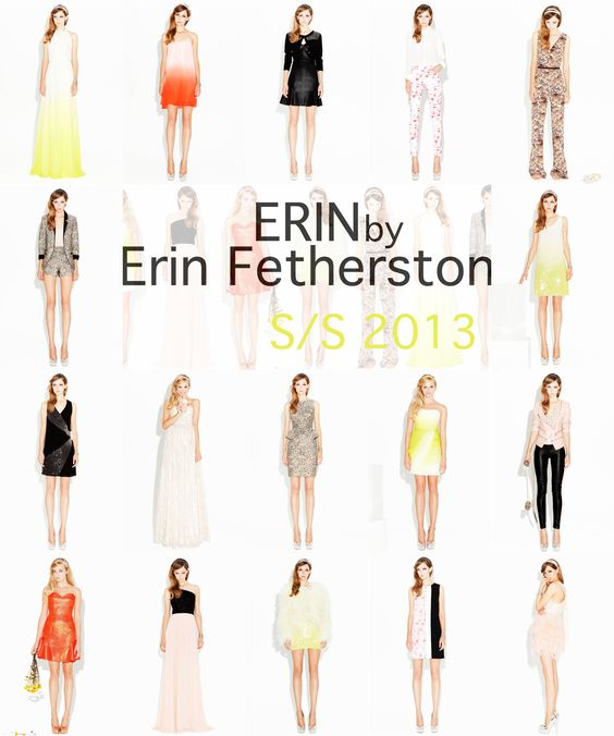 ERIN by Erin Fetherston Spring 2013 #NYFW