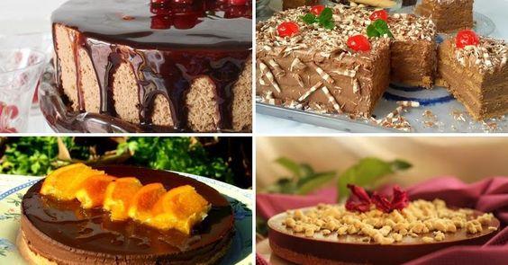 4 espectaculares tartas con chocolate