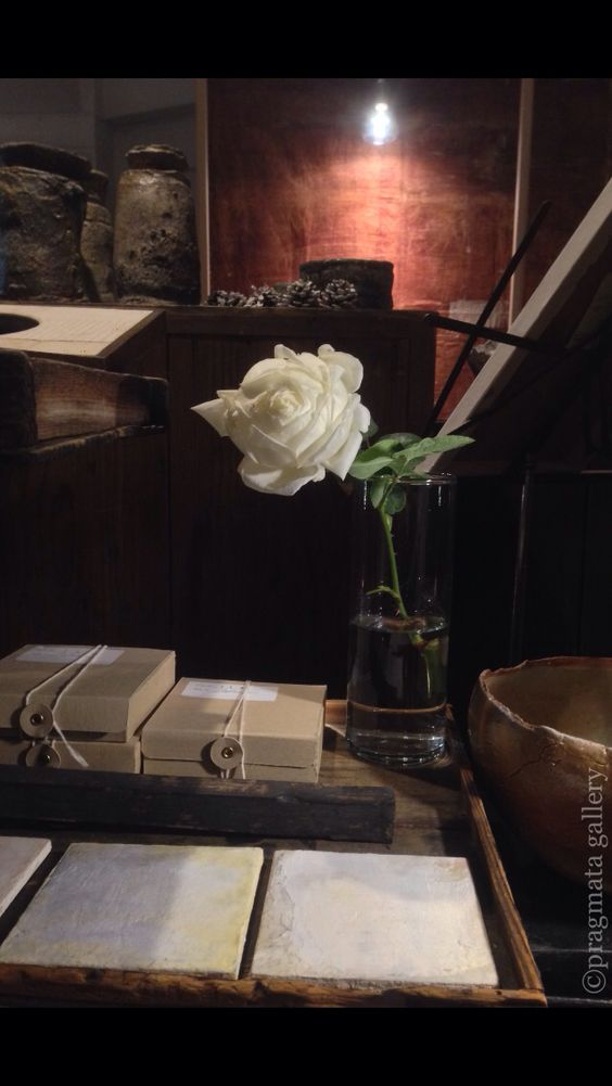Single large rose flower from my balcony garden.  #rose #interiors #gallery #Tokyo