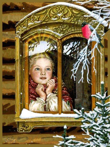 Рождество - Блеск анимации - Снег Анимации - Анимированные изображения - Страница 20: