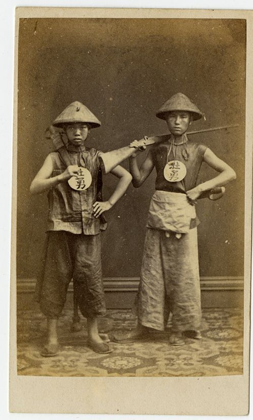 Pun Lun - Two Chinese Soldiers: