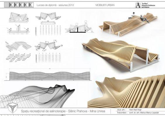 Mobilier Urban design parametric Diploma arhitectura (4)