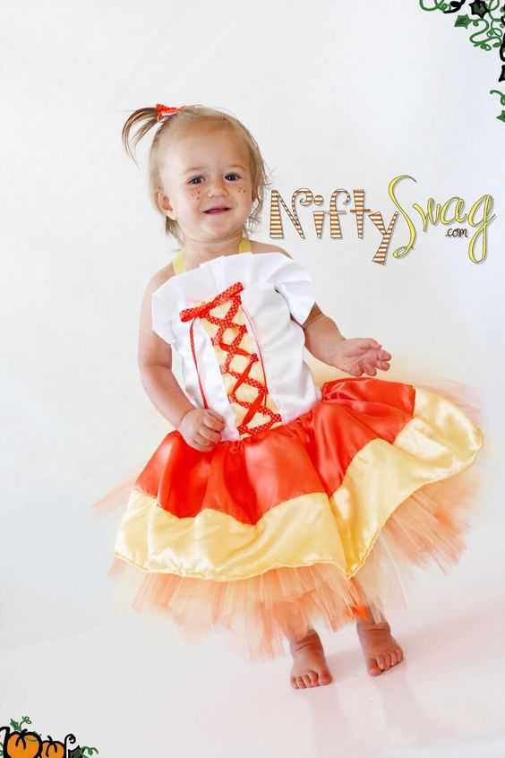 This is such a sweet little candy corn!: Corn Recipes, Wedding Dressses, Wedding Dresses, Cutest Costumes, Candy Corn, Kids Costumes, Corn Princess