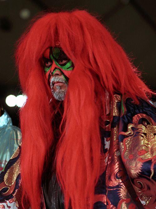 東洋の神秘」グレート・カブキ引退。ペイントと赤と緑の毒霧が綴る伝説 ...