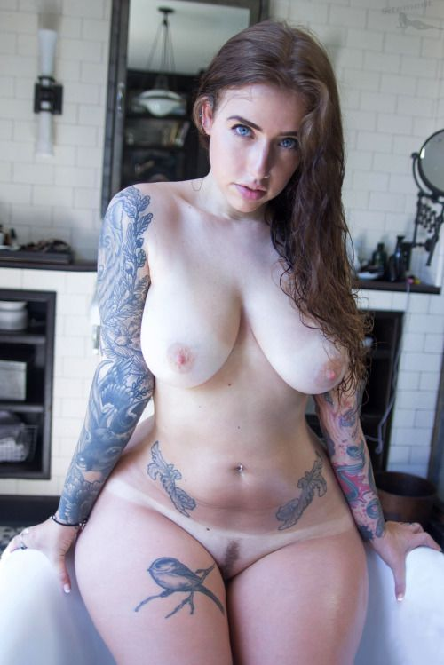 Tattooed Sexy Naked Bitches