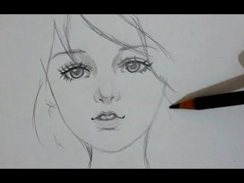ᴴᴰ Draw Beautiful Girl Pictures To Draw Pencil Drawings Of Girls Face Drawing