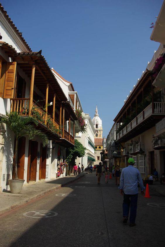 Balcones de Cartagena en el Centro Historico