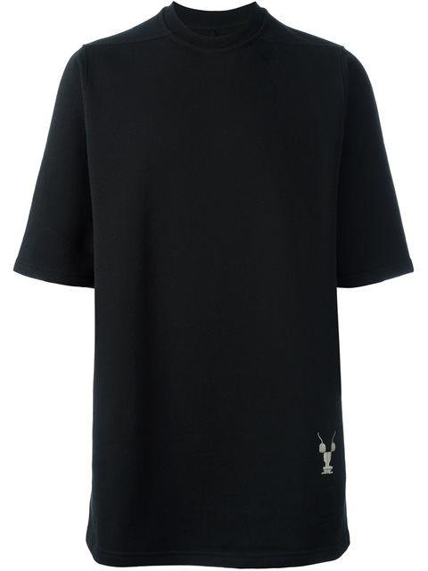 RICK OWENS DRKSHDW Sweatshirt Mit Kurzen Ärmeln. #rickowensdrkshdw #cloth #ärmeln