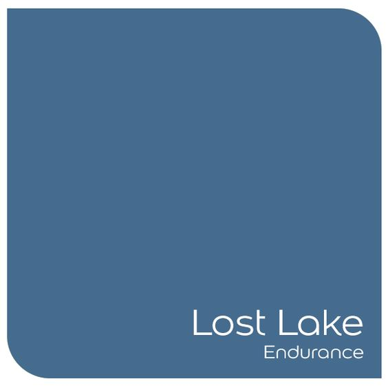 Lost Lake Endurance paint by Dulux.: