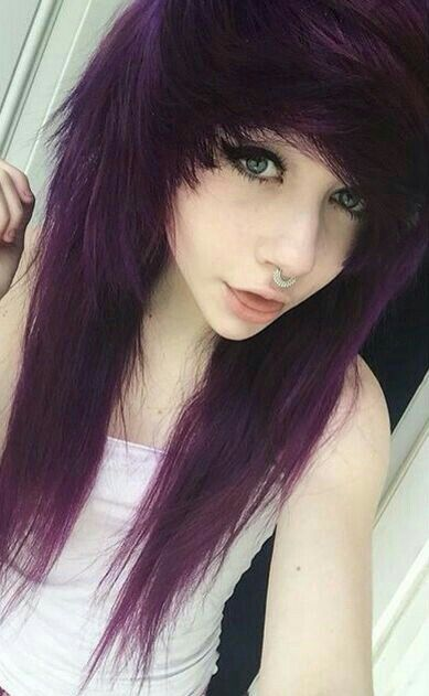 Love This Fringe Should I Get It With Images Emo Scene Hair