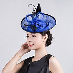 Womens Sinamay Flower Fascinator Wedding Hat – USD $ 24.99