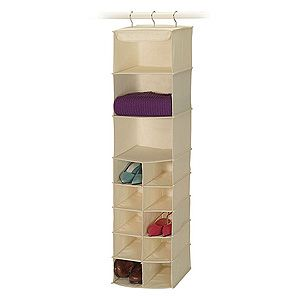 Richards Canvas Sweater & Shoe Organizer