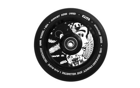 Elite Supreme AIR-Ride Wheel now in stock online exclusively at MyProScooter - https://www.myproscooter.com/shop/parts/wheels/elite-supreme-air-ride-wheel/ Description: Using two separate machined aluminum gadgets to create a single core, Elite has created one in every of many lightest wheels obtainable available on t...