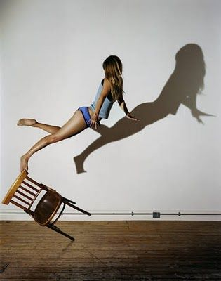 Sam Taylor-Wood represents physical spaces and elements through highly energetic poses and situations. I am interested in her works that investigate self by removing objects and her body figures. They are a fantastically matched.