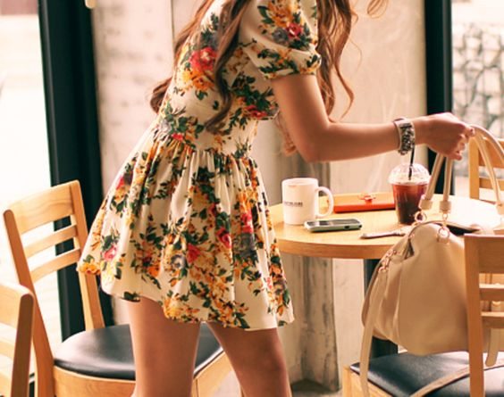 Floral frock