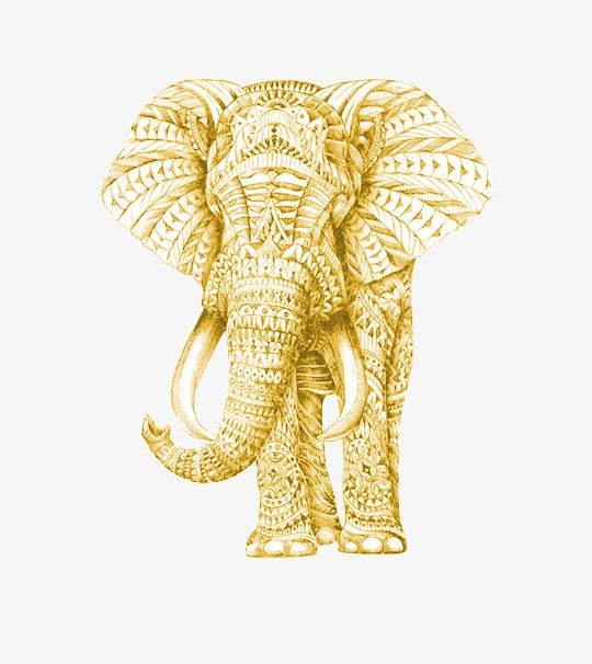 Hand Painted Golden Elephant Elephant Painting Elephant Painting Pngtree provide golden elephant in.ai, eps and psd files format. hand painted golden elephant elephant